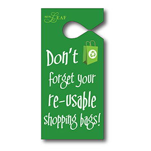 Item: T13054 - Semi-Rigid Vinyl Hanging Parking Tag