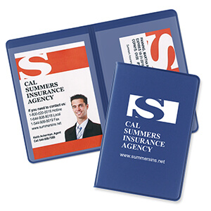 Item: 1601 - 2-Pocket Proof of Insurance Holders
