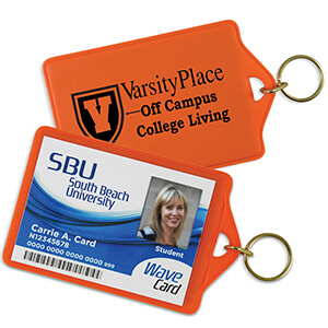 Item: 4210 - ID Holder/Key Rings