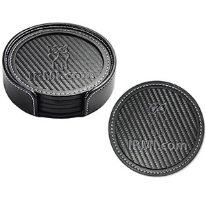 Item: Mi8051 - Carbon Fiber Coaster Set