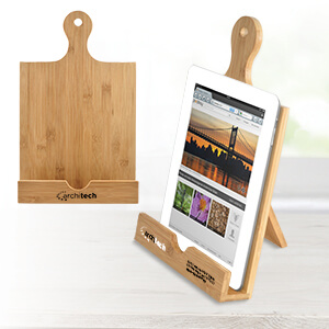 Item: MI4200 - Bamboo Cookbook & Tablet Stand