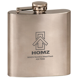 MI4214 - Stainless Steel Metal Flask