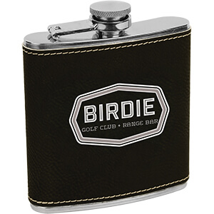 MI4216 - Leatherette Flask